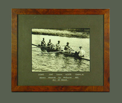 Photograph of Murray Bridge Rowing Club, Stewards Cup Winners 1922