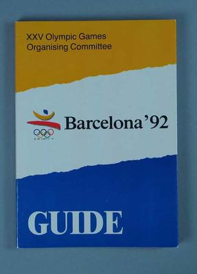 Guide Book - 'Barcelona '92 Guide'