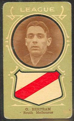 Trade card featuring Hans Bertram c1930s