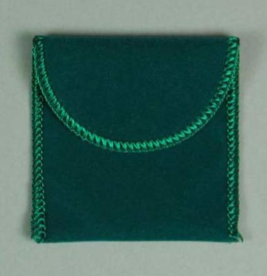 Pouch for medallion, 1996 Atlanta Olympic Games