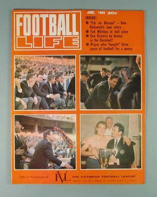 "Magazine, ""Football Life"" June 1969"