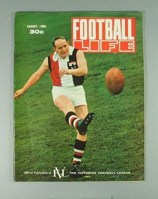 "Magazine, ""Football Life"" August 1968"
