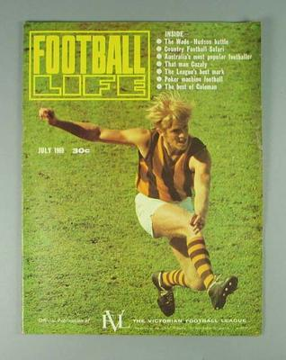 "Magazine, ""Football Life"" July 1969"