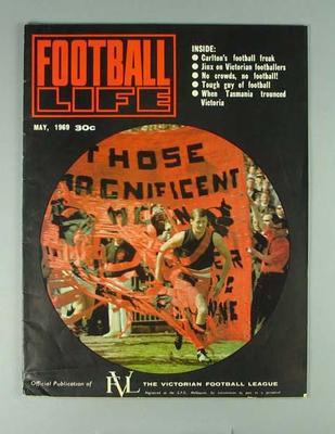 """Magazine, """"Football Life"""" May 1969"""