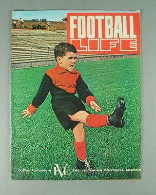 "Magazine, ""Football Life"" July 1968"