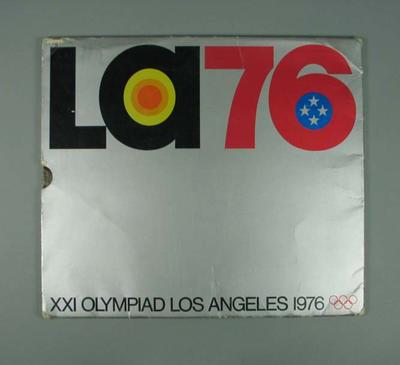 Book, Los Angeles' Bid for the 1976 Olympic Games