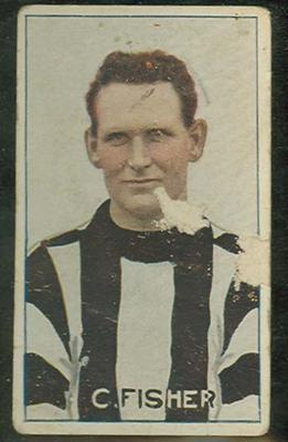 Trade card featuring Charlie Fisher c1930s