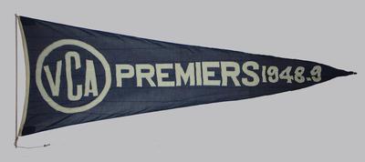 VCA Premiers 1948-49 pennant