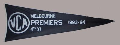 VCA Premiers 1993-94 Melbourne Fourth XI pennant