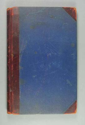 Notebook containing scores of cricket matches played by the Australian team, whilst on tour in England in 1921 & 1926