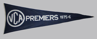 VCA Premiers 1975-76 pennant