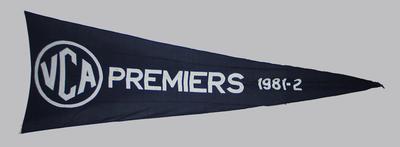 VCA Premiers 1981-82 pennant