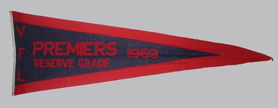 VFL Reserve Grade Premiers 1969 pennant
