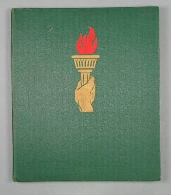"Book, ""The Olympic Games Melbourne 1956""; Documents and books; 1990.2391"
