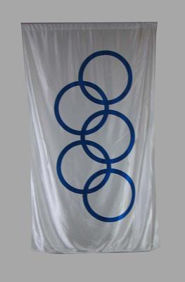 Flag, Olympic Games rings c2000