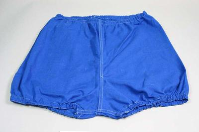 Cotton bloomers, used for the 1954 Royal Visit Education Department Children's Display