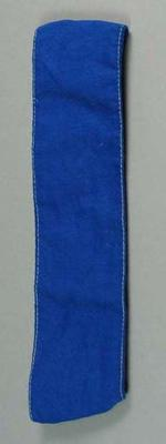 Cotton headband, used for the 1954 Royal Visit Education Department Children's Display