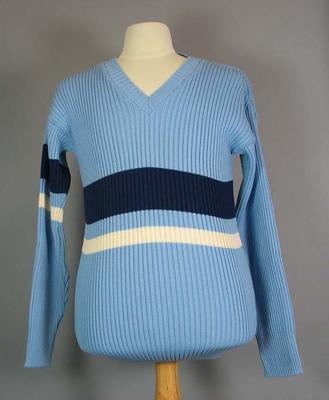 Cricket jumper, believed to have been worn by Graham Gooch