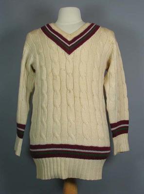 West Indies cricket jumper c. 1960-61