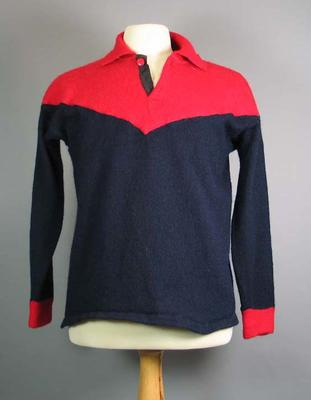 Melbourne FC jumper, worn by John Lord