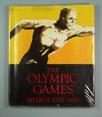 "Book, ""The Olympic Games Melbourne 1956""; Documents and books; 1992.2582.30"