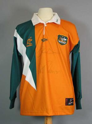 Australian Rugby Union team supporter jersey, c1997