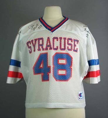 Lacrosse shirt, Syracuse University