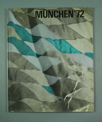 """Book, """"Munchen '72"""""""