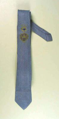 Official Tie worn by William Ager with  BE & CG, Perth, 1962 emblem