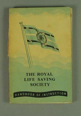 "Book, ""Handbook of Instruction"" Royal Life Saving Society c1953"