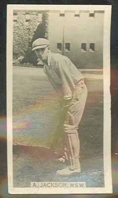 Trade card featuring Archibald Jackson c1930s