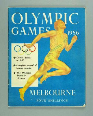 "Magazine, ""Olympic Games 1956"""