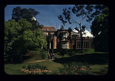 Transparency - 'Government House' taken by W. Ager at 1962 BE & CG, Perth