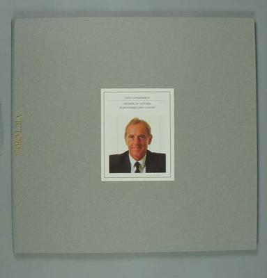 Prospectus for Melbourne's 1996 Olympic Games bid, Victoria report