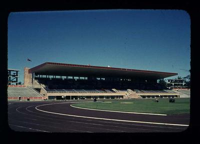 Transparency - 'Perth Stadium' taken by W. Ager at 1962 BE & CG, Perth