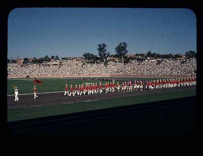 Transparency - 'Canada Team' taken by W. Ager at 1962 BE & CG, Perth