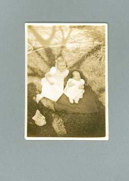 Photograph of George Moir's family, October 1945; Photography; 1987.1627.211
