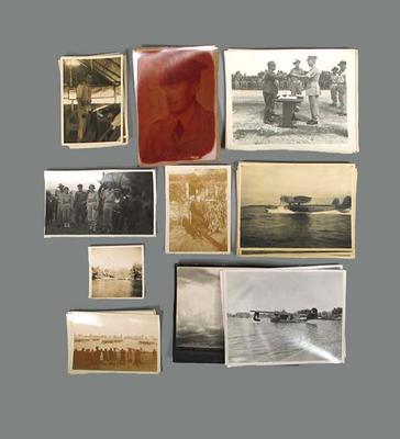Photographs depicting World War II scenes