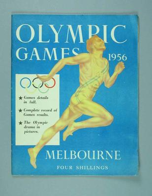 "Magazine, ""Olympic Games 1956 Melbourne"""