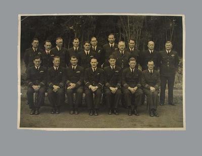 Photograph of No.10 Unit Commander's Course, 26 October 1944