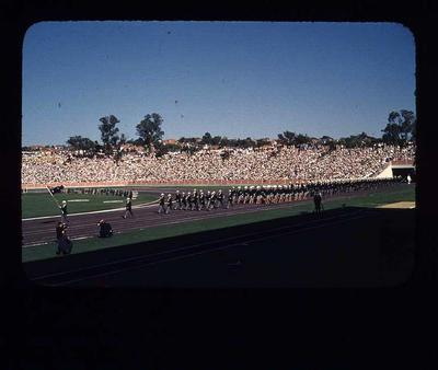 Transparency - 'Australian Team' taken by W. Ager at 1962 BE & CG, Perth