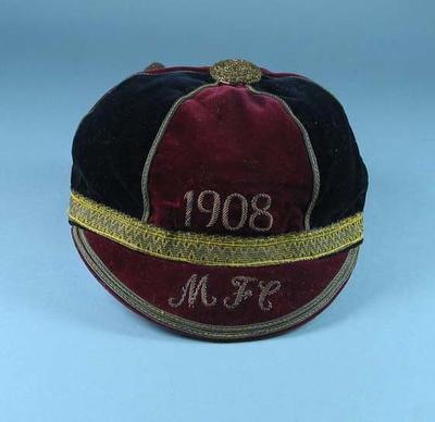 Cap, Montreal Football Club c1908