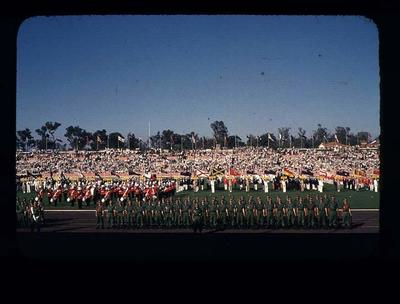 Transparency - 'Guard of Honor' taken by W. Ager at 1962 BE & CG, Perth