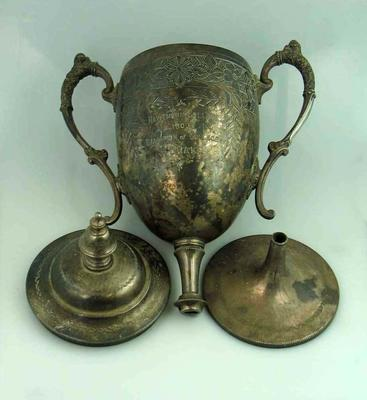 Trophy - Hawthorn College - J. Brake 1903 Champion of College