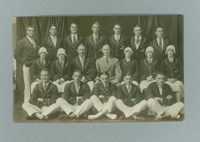 Photograph of 1928 Australian Olympic Games team