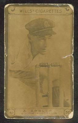 Trade card featuring Albert Ambler c1930s
