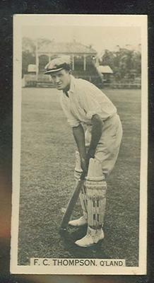 Trade card featuring Francis Thompson c1930s