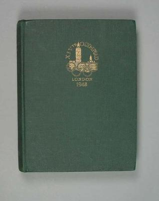 Official report, 1948 Olympic Games