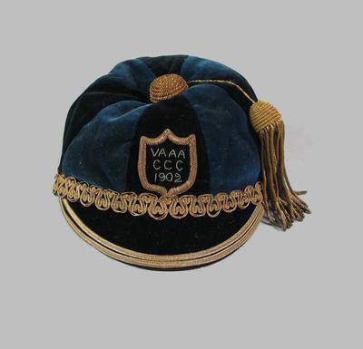 Cap - Victorian Amateur Athletic Association 1902 worn by John Peter Niquet