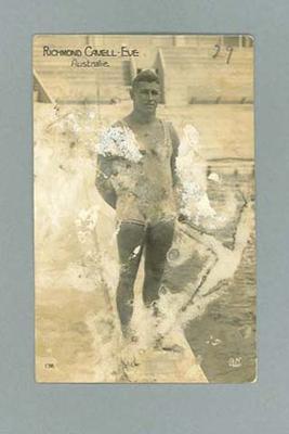 Postcard, image of Richmond Eve c1924